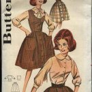 "Vintage Butterick Sewing Pattern 9841 B9841 Misses Size 12 Bust 32"" Used Blouse Skirt Vest Jumper"
