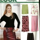 New Look Pattern 6118 Size 8-18 Misses' Fitted Skirts
