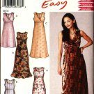 New Look Sewing Pattern 6200 Misses Size 8-18 Easy Sleeveless Summer Empire Waist Dresses