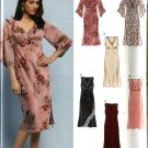 New Look Sewing Pattern 6404 Misses Size 8-18 Easy Raised Waist Dresses