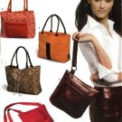 New Look Pattern 6425 Four Fashion Purses Bags Handbag Totes