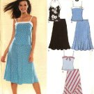 New Look Sewing Pattern 6498 Size 6-16 Misses Tops Skirts 2-piece dress