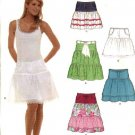 New Look Sewing Pattern 6568 Misses Size 6-16 Yoke Tiered Skirts