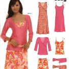 New Look Sewing Pattern 6571 Misses Size 8-18 Dress Top Camisole Skirt Belt