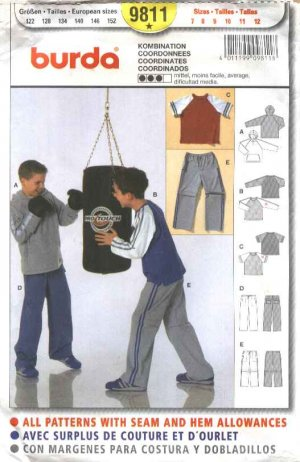 How to sew children's clothes - children's sewing patterns for