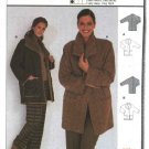 Burda Sewing Pattern 8759 Misses Size 8-22 Easy Loose Fitting Long Sleeve Jacket