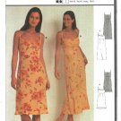 Burda Sewing Pattern 8837 Misses Size 6-16 Easy Slip Empire Dress