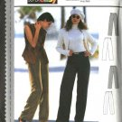 Burda Sewing Pattern 2938 Misses Size 10-20 Easy Fitted Slacks Pants