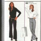 Burda Sewing Pattern 3114 Size 8-18 Misses' Close-Fitted Pants Slacks