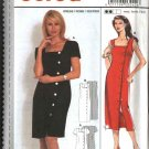 Burda Sewing Pattern 3242 Misses Size 8-18 Easy Front Button Summer Dress