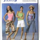 Burda Sewing Pattern 8041 Size 6-18 Misses' Easy Capri Pants Shorts