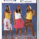 Burda Sewing Pattern 8047 Size 16-28 Women's Plus Easy Skirts