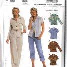 Burda Sewing Pattern 8065 Size 10-20 Misses' Easy Shirt Jacket
