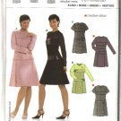 Burda Sewing Pattern 8148 Misses Size 6-20 Fitted Dress
