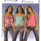 Burda Sewing Pattern 8180 Misses Size 6-18 Easy Fashion Summer Top