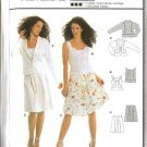 Burda Sewing Pattern 8191 Misses' Size 6-16 Jacket Top Skirt