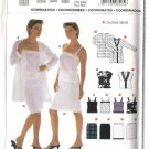 Burda Sewing Pattern 8205 Misses Size 6-20 Easy Duster Camisole Top Skirt
