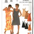 Burda Sewing Pattern 8227 Misses Size 10-24 Easy Bias Dresses