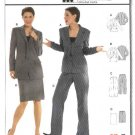 Burda Sewing Pattern 8262 Misses Size 10-22 Skirt Jacket Pants Suit