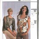 Burda Sewing Pattern 8356 Misses Size 10-20 Easy  Shirt T-Shirt Top