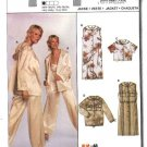 Burda Sewing Pattern 8369 Misses Size 10-22 Easy Hooded Dress Jacket Top