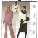 Burda Sewing Pattern 8392 Misses Size 12-22 Skirt Jacket Pants Suit