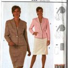 Burda Sewing Pattern 8525  Misses Petite Size 10-20  Suit Jacket Skirt