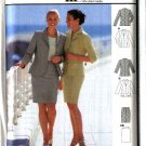 Burda Sewing Pattern 8916 Misses Size 8-20 Suit Jackets Tapered Skirt
