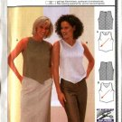Burda Sewing Pattern 8987 Misses Size 8-20 Easy Fitted Sleeveless Bias Top