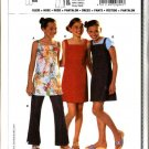 Burda Sewing Pattern 9694 Size 7-14jr Junior Girls Easy  Dress Jumper Top Pants