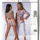 Burda Sewing Pattern 9789 Size 11-16jr Junior girls  Yoke Hip Pants