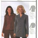 Burda Sewing Pattern 2560 Misses Sizes 10-22 Easy Blouse Shirt