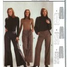 Burda Sewing Pattern 8411 Misses Size 10-20 fitted Pants Trousers