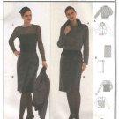 Burda Sewing Pattern 8556 Misses Sizes 8-18 Jacket Leather Wrap Skirt Top