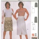 Burda Sewing Pattern 8637 Misses Sizes 10-24 Easy fitted Skirts