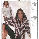Burda Sewing Pattern 8694 Misses Sizes 10-20 Easy Blouse Shirt Top