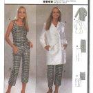 Burda Sewing Pattern 8791 Misses Sizes 10-20 Coordinates Jacket Top Pants