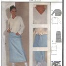 Burda Sewing Pattern 8884 Misses Sizes 6-16 Easy Skirt Pullover Shirt