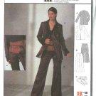 Burda Sewing Pattern 8888 Misses Sizes 10-22 Jacket Pants Belt Coordinates