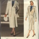 Vogue Sewing Pattern 1447 Misses Size 10 Christian Dior Coat Jacket Skirt Shirt