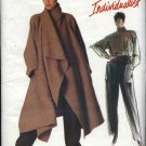 Vogue Sewing Pattern 1476 Misses Size 8 Issey Miyake Individualist Coat Shirt Pants