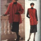 Vogue Sewing Pattern 1616 Misses Size 8 Guy Laroche Skirt Vest Jacket CUT