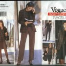 Vogue Sewing Pattern 1682 Misses Size 8-12 Tamotsu Wardrobe Jacket Top Dress Skirts Pants