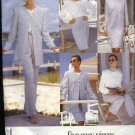Vogue Sewing Pattern 1727 Misses Size 8-12 Easy Jacket Dress Top Skirt Pants Jacket