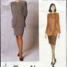 Vogue Sewing Pattern 1996 Misses Size 8-12 emanuel ungaro Jacket Skirt Suit