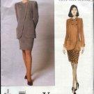 Vogue Sewing Pattern 1996 Misses  Size 8-12 emanuel ungaro Jacket Skirt Suit