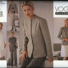 Vogue Sewing Pattern 2076 Misses Size 6-8-10 Easy Wardrobe Jacket Skirt Dress Top Pants