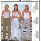 Burda Sewing Pattern 8908 Misses Sizes 8-20 Easy Pants Overskirt