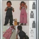 Burda Sewing Pattern 9882 Boys Girls Sizes 3 month - 18 month Overalls