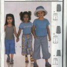 Burda Sewing Pattern 9890 Girls Size 2-6 Pants Capris